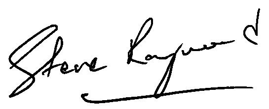 Steve Raymond Signature